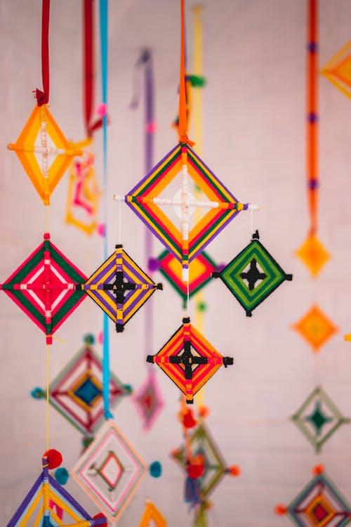 Foto profissional grátis de apanhador de sonhos, cheio de cor, colorida