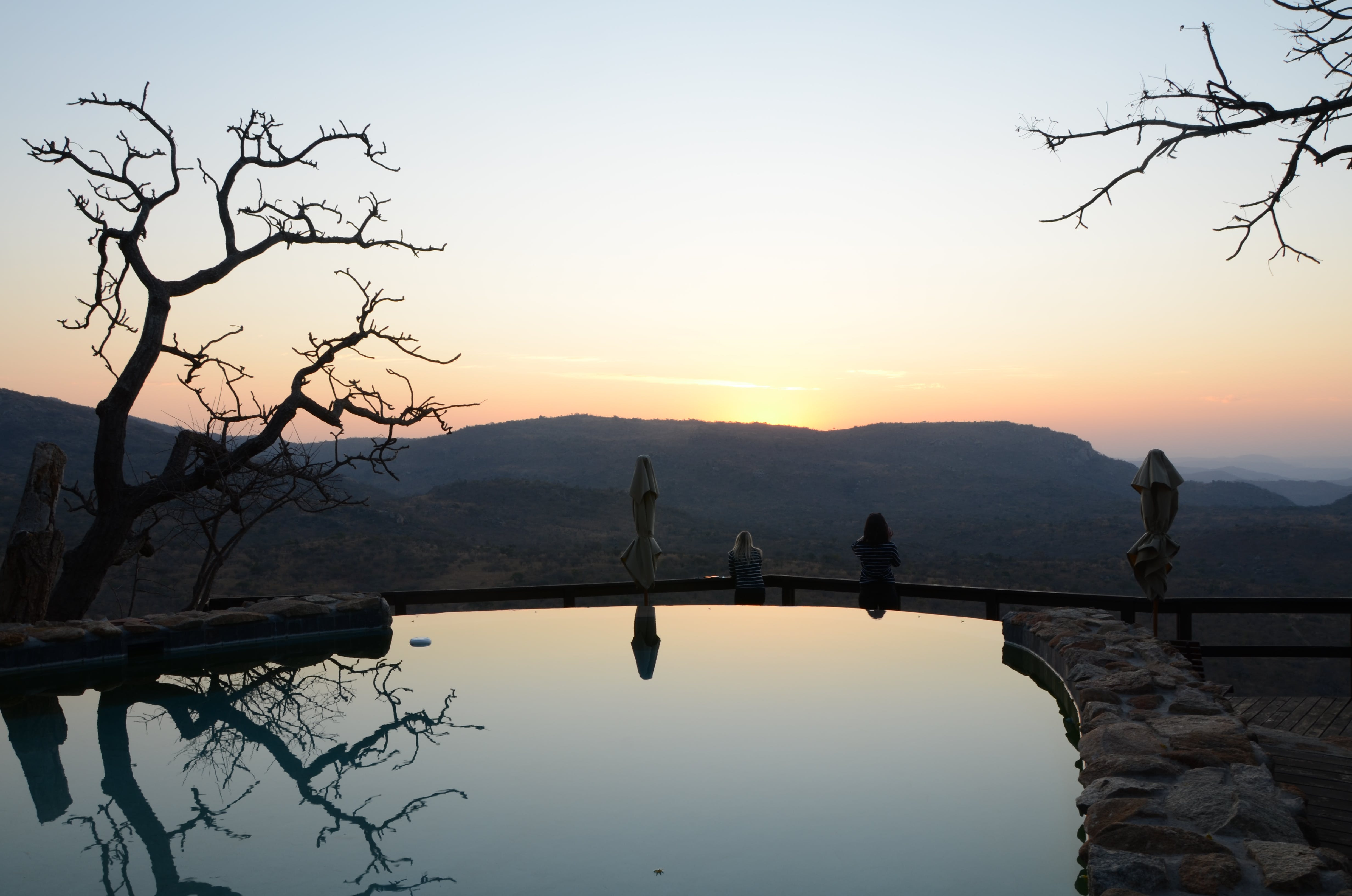 Free stock photo of bush veld, golden sunset, pools