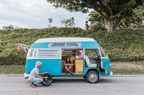 Free stock photo of adventure, bus, camper