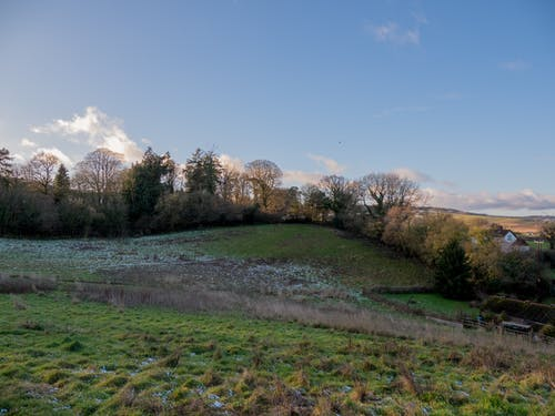 Бесплатное стоковое фото с небо, поля, сцена