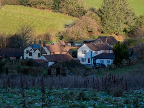 Free stock photo of country, farm, farmhouse, somerset