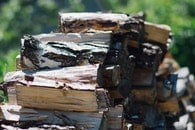 wood, logs, chopped wood