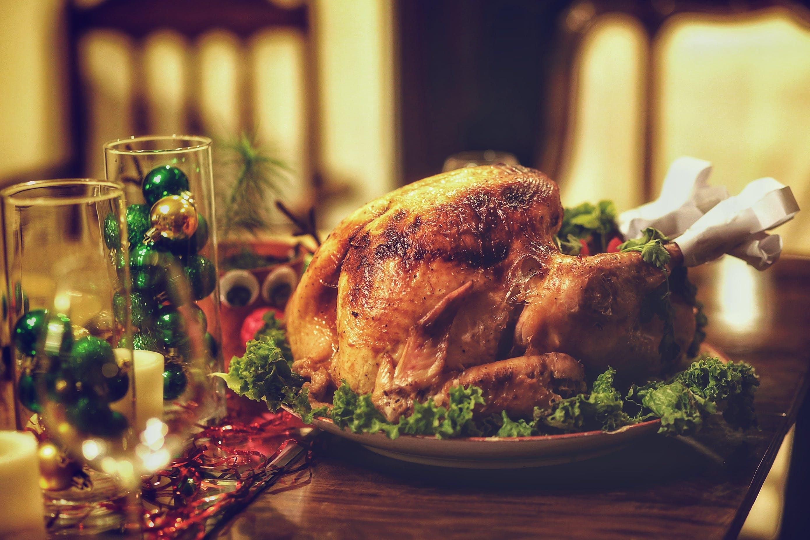 Free stock photo of christmas, christmas eve, dinner, dinner table
