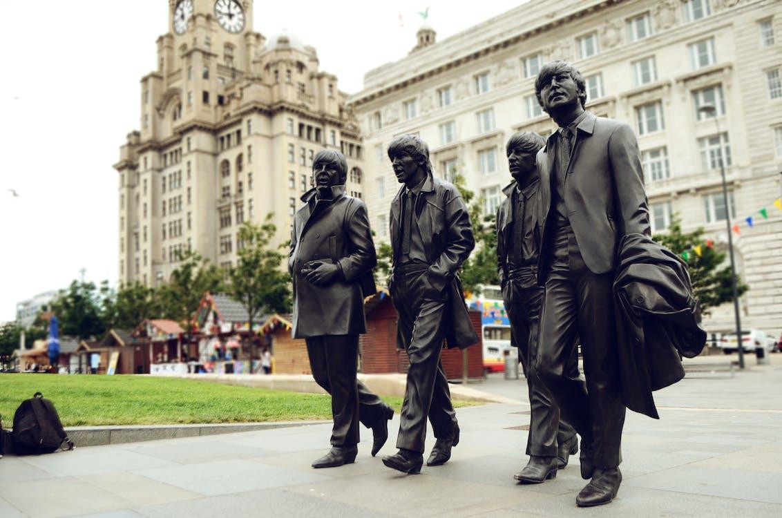 Beatles, building, city
