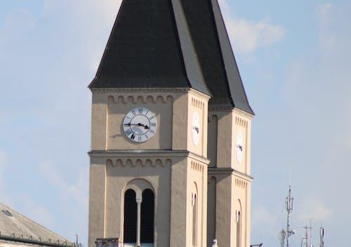 Free stock photo of clock, hungary, temple