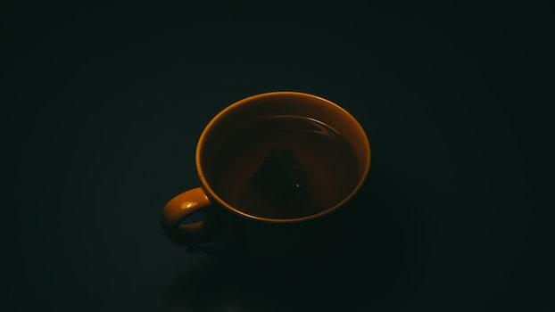 Brown Ceramic Cup