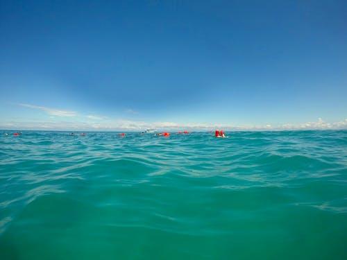 manzara, okyanus, şnorkelle dalma içeren Ücretsiz stok fotoğraf