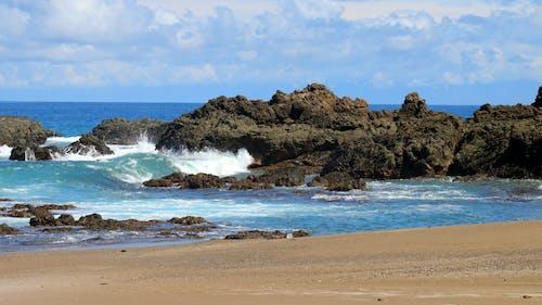 deniz, doğa, Kumlu plaj, manzara içeren Ücretsiz stok fotoğraf