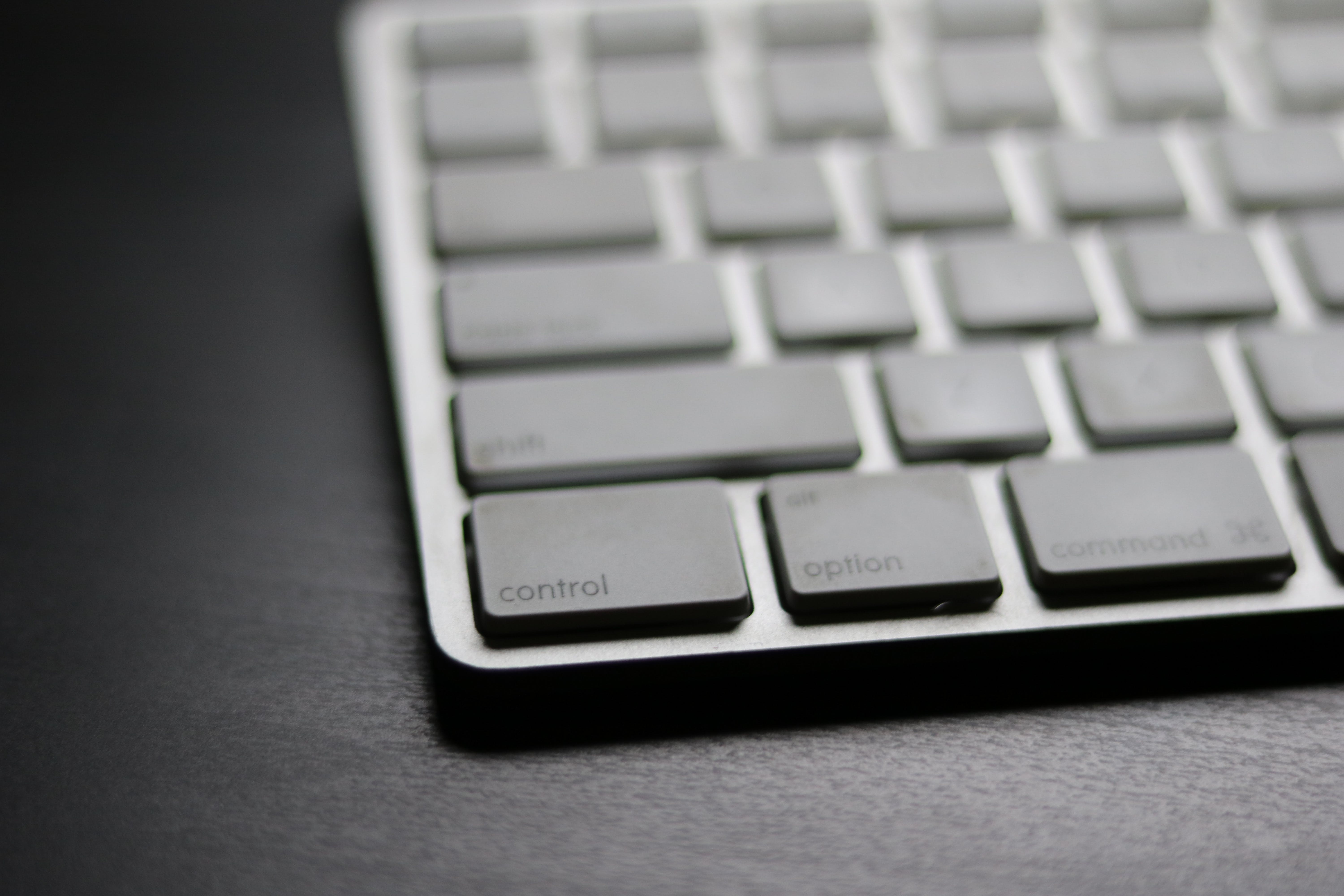Focus Photography of Keyboard