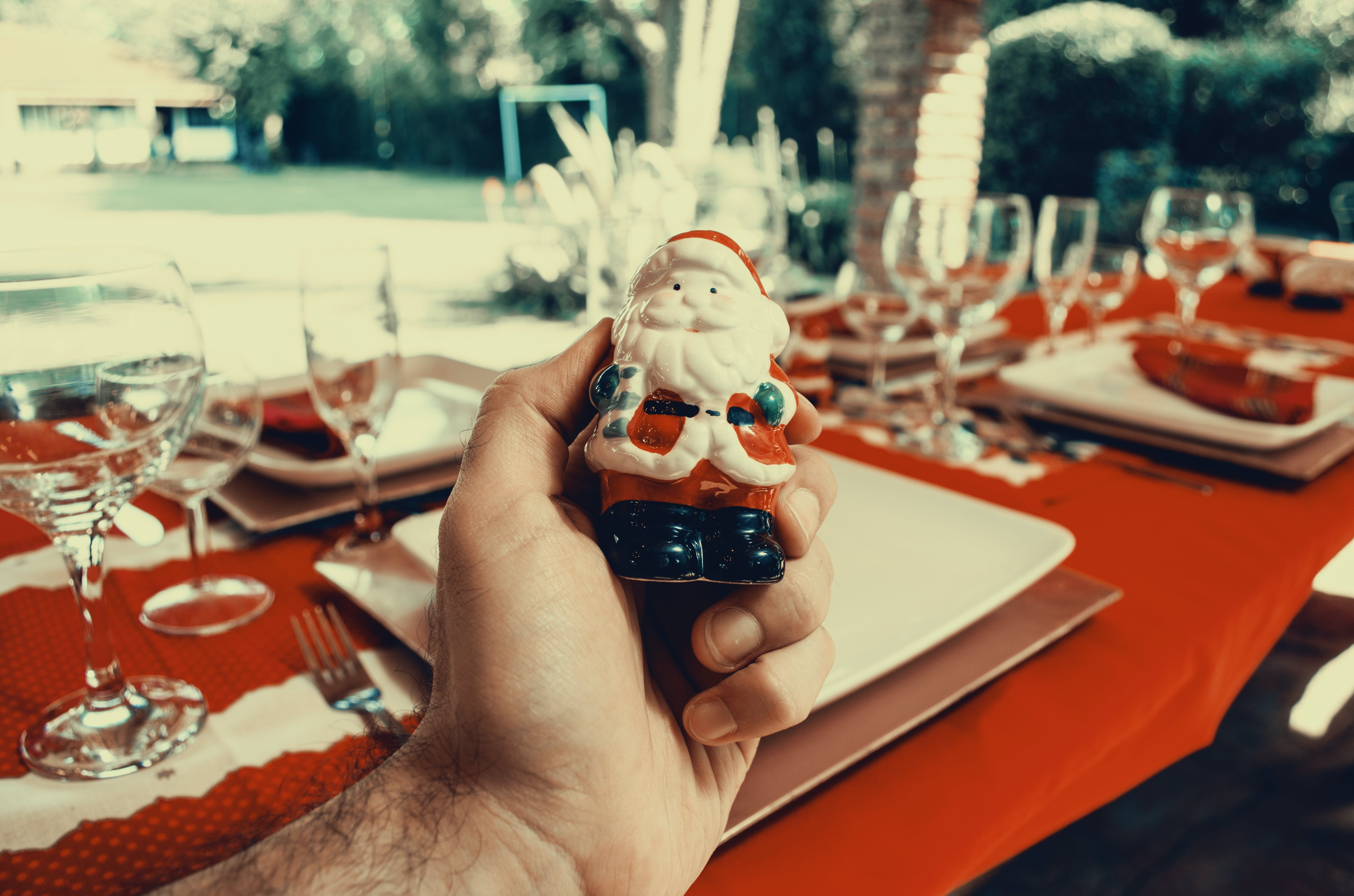 Santa Claus Ceramic Decor