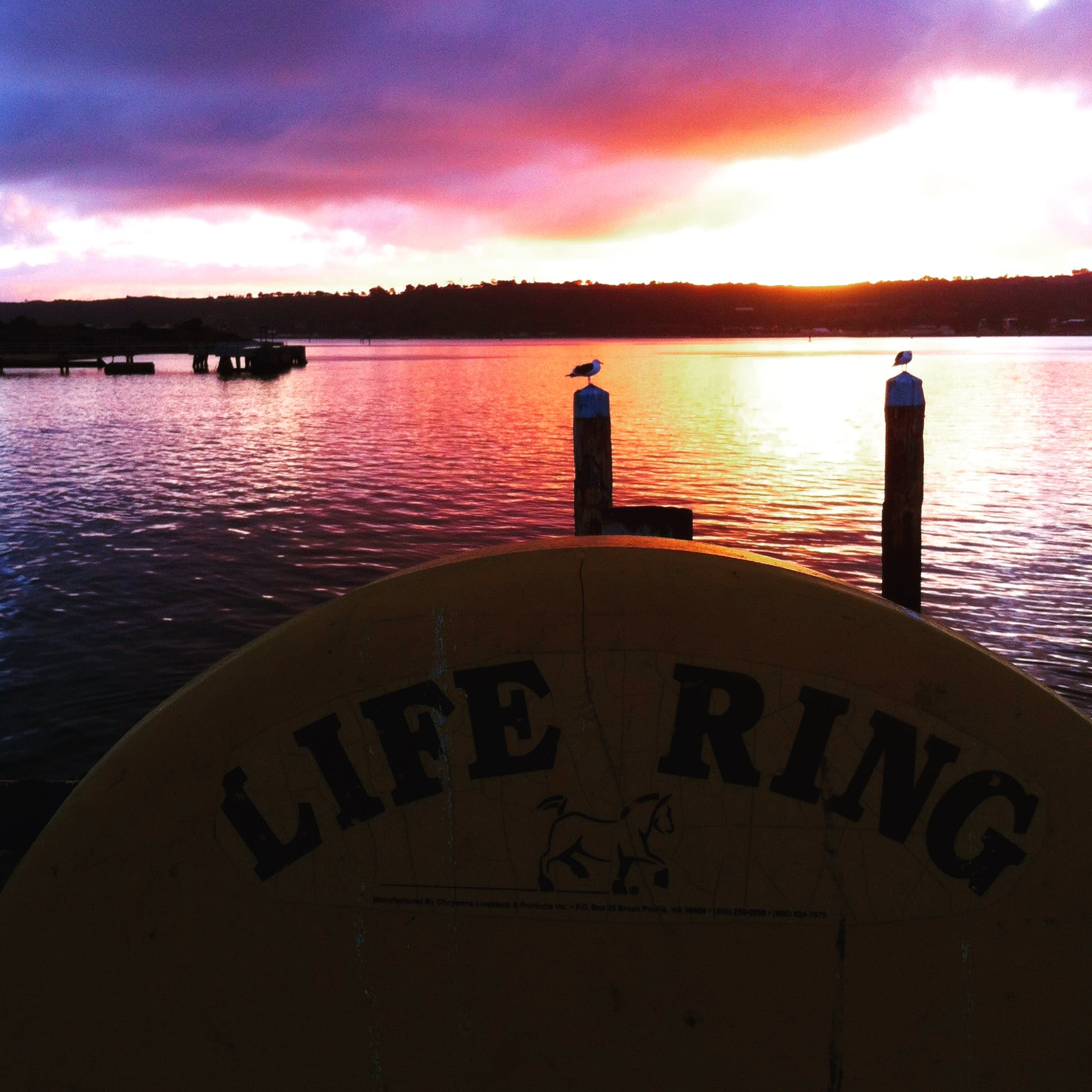 Free stock photo of life guard, ocean, san diego, sunset