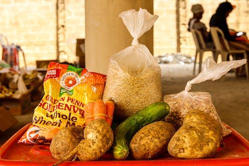 Free stock photo of basket, bread, christmas