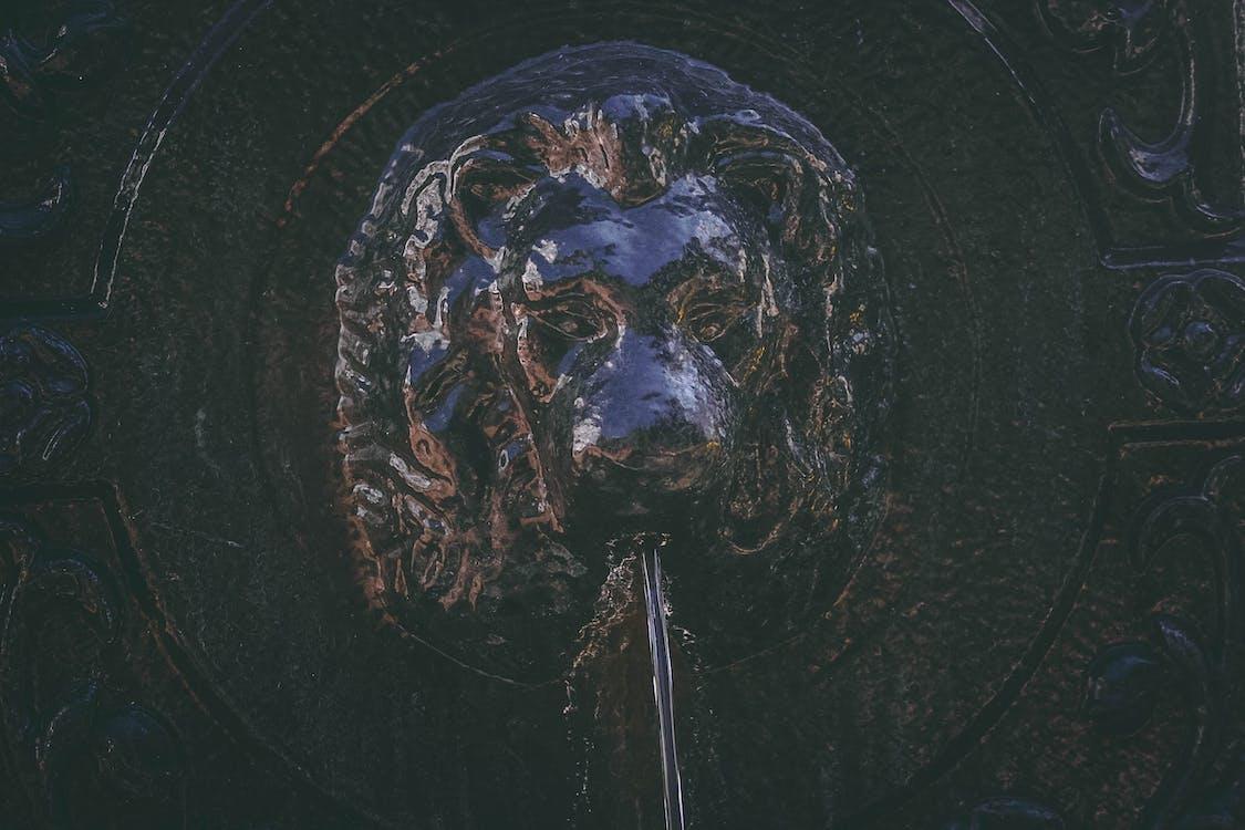 aigua, art, escultura