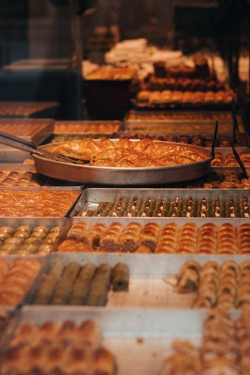 お菓子, ショップ, ステンレス鋼の無料の写真素材