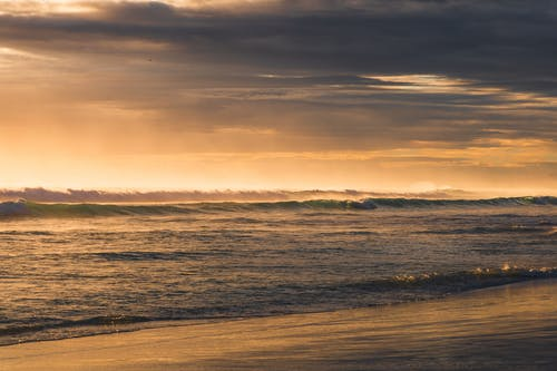 Free stock photo of beach, beach sunset, cloud