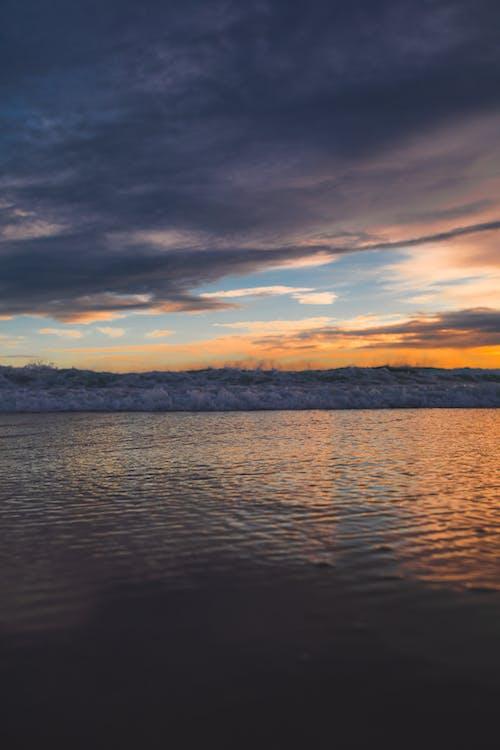 Free stock photo of azure, beach, beach sunset