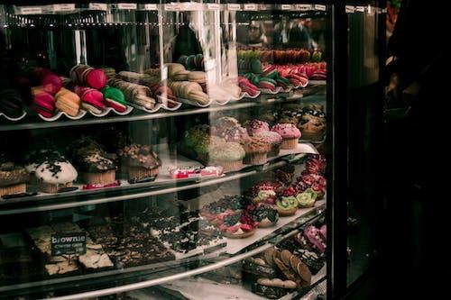 インドア, おいしい, カップケーキの無料の写真素材
