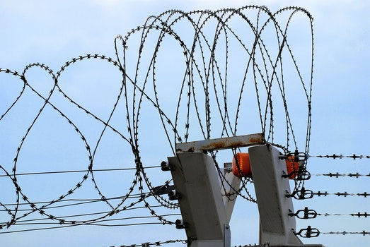 Free stock photo of barbed wire, theme layers