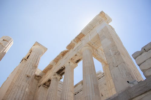 The Ruins of Parthenon Temple