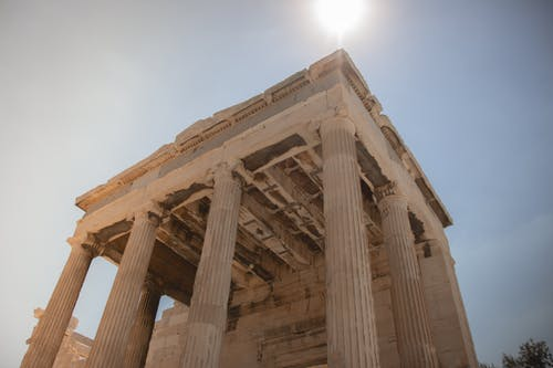 The Temple Ruins of Parthenon in Gtreece