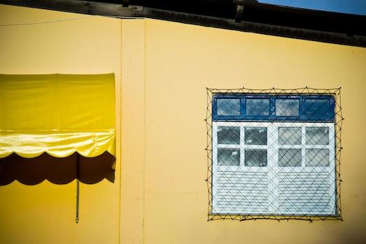 Free stock photo of yellow, window, nikon