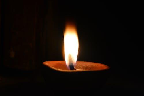 漂亮, 漆黑, 火焰, 燃燒 的 免費圖庫相片