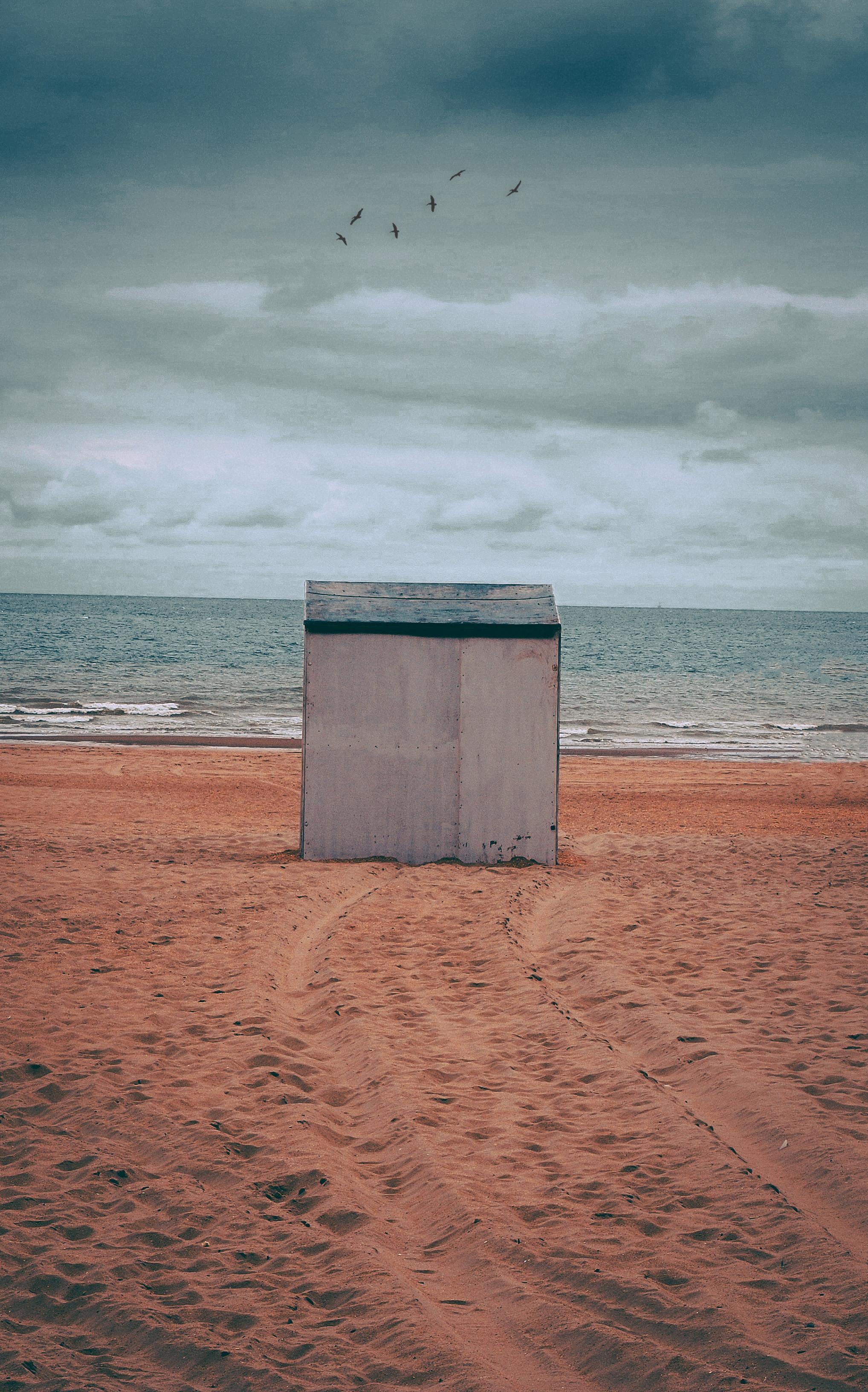 Photo gratuite de abri de jardin, Belgique, bord de mer