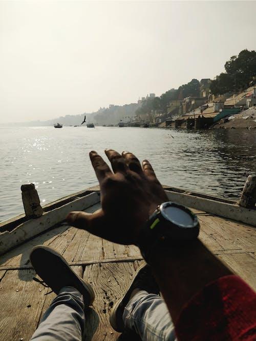 インド, ガンガガーツ, どこでも, トラベリングトラベラーの無料の写真素材