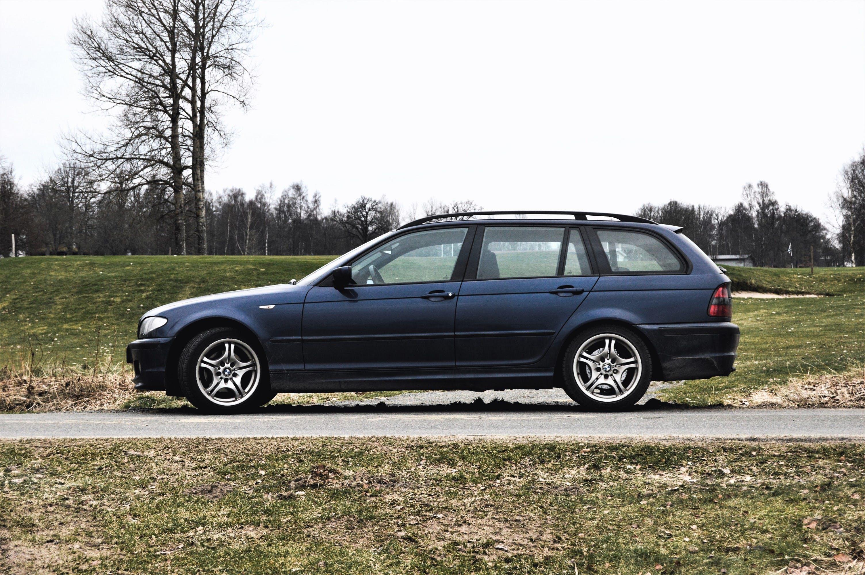 Free stock photo of 2003, auto, blue, BMW