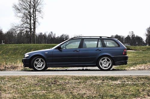 Free stock photo of 2003, auto, blue, car