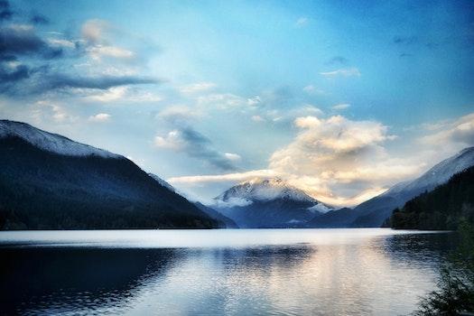 Free stock photo of glacier, snow, dawn, landscape