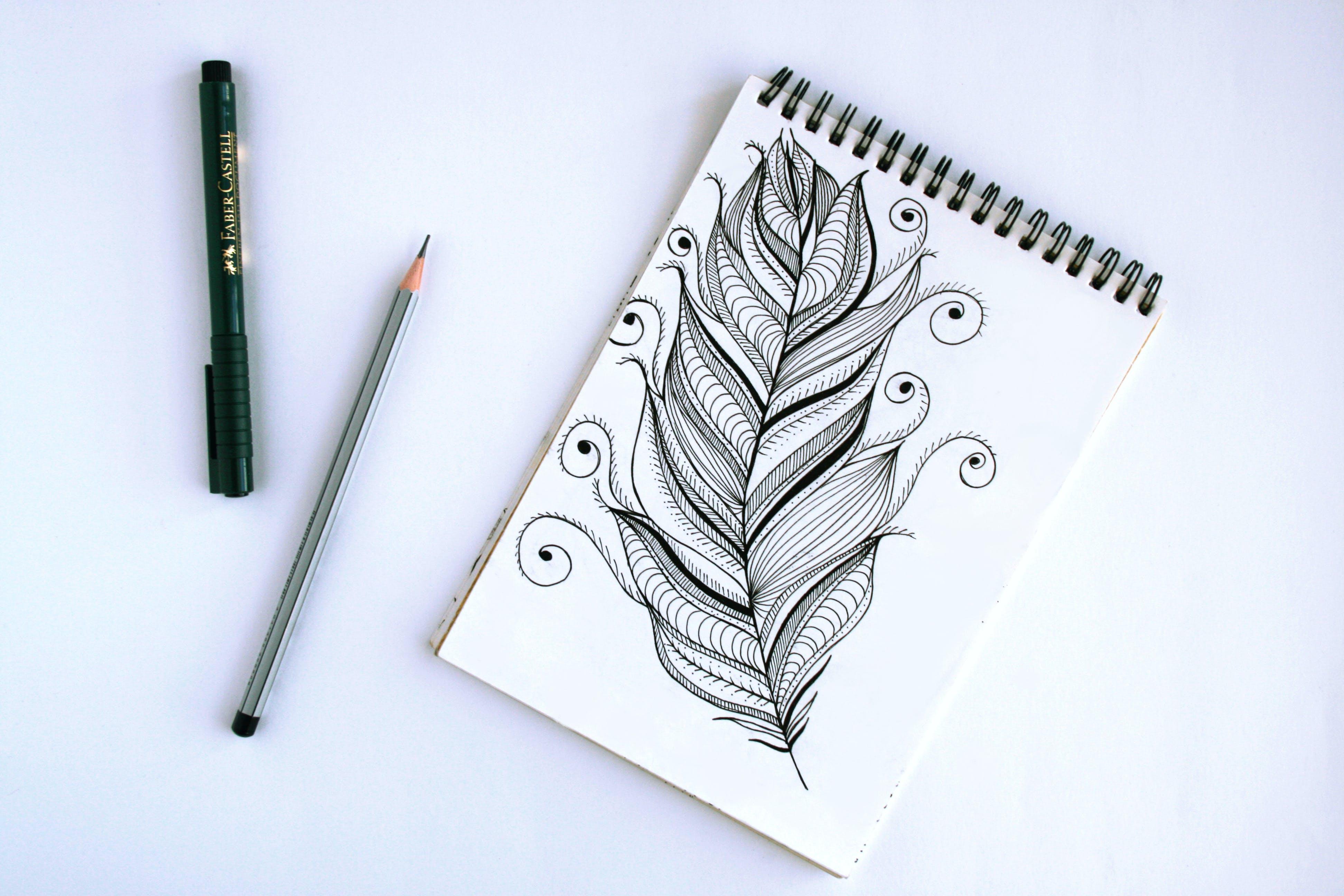 blok, černobílá, design