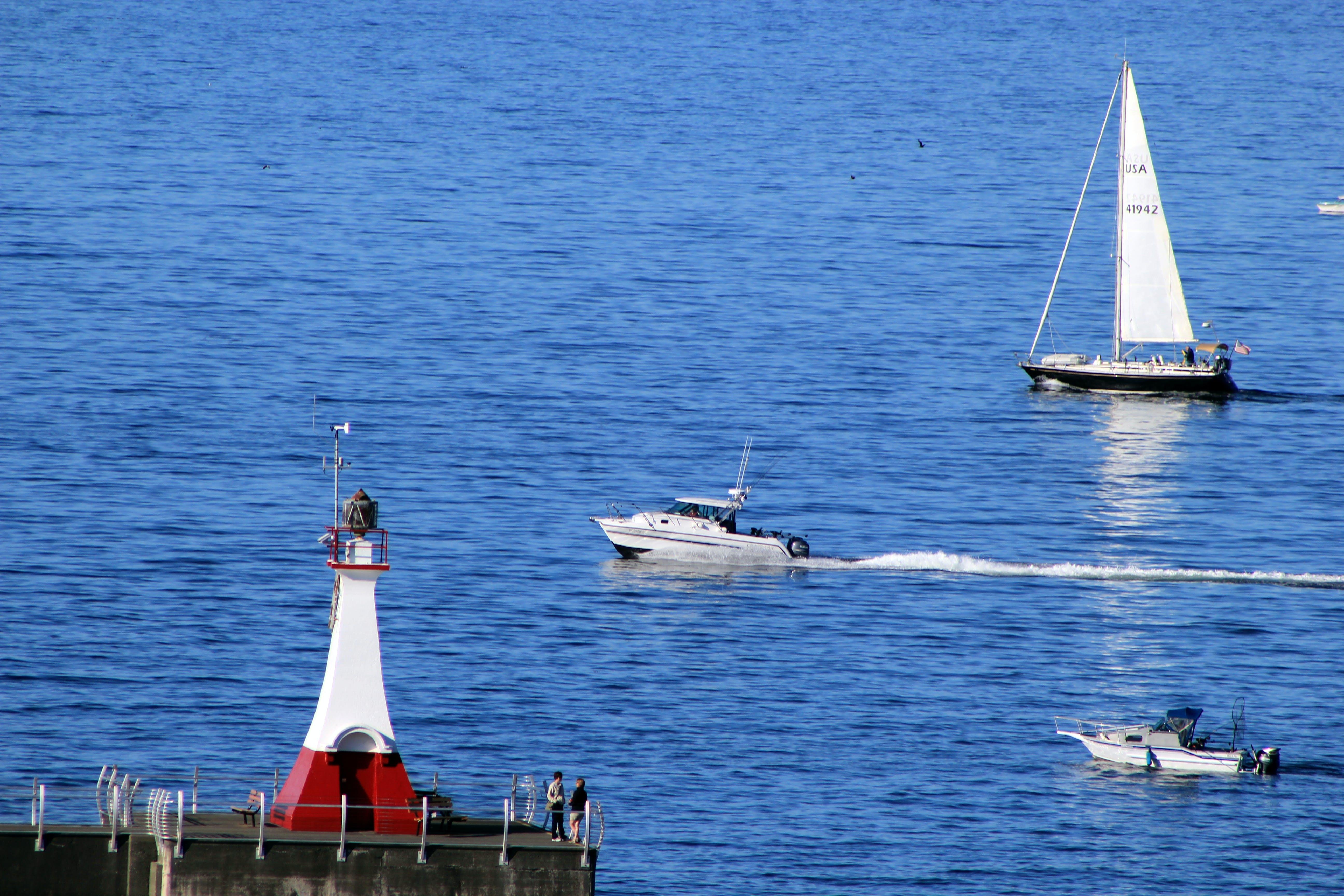 Free stock photo of port, sea, ships