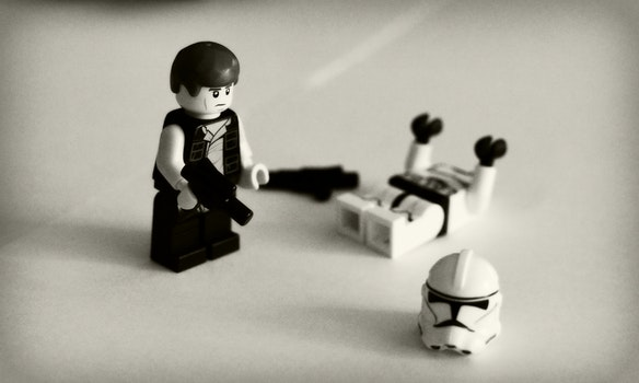 Free stock photo of lego, star wars