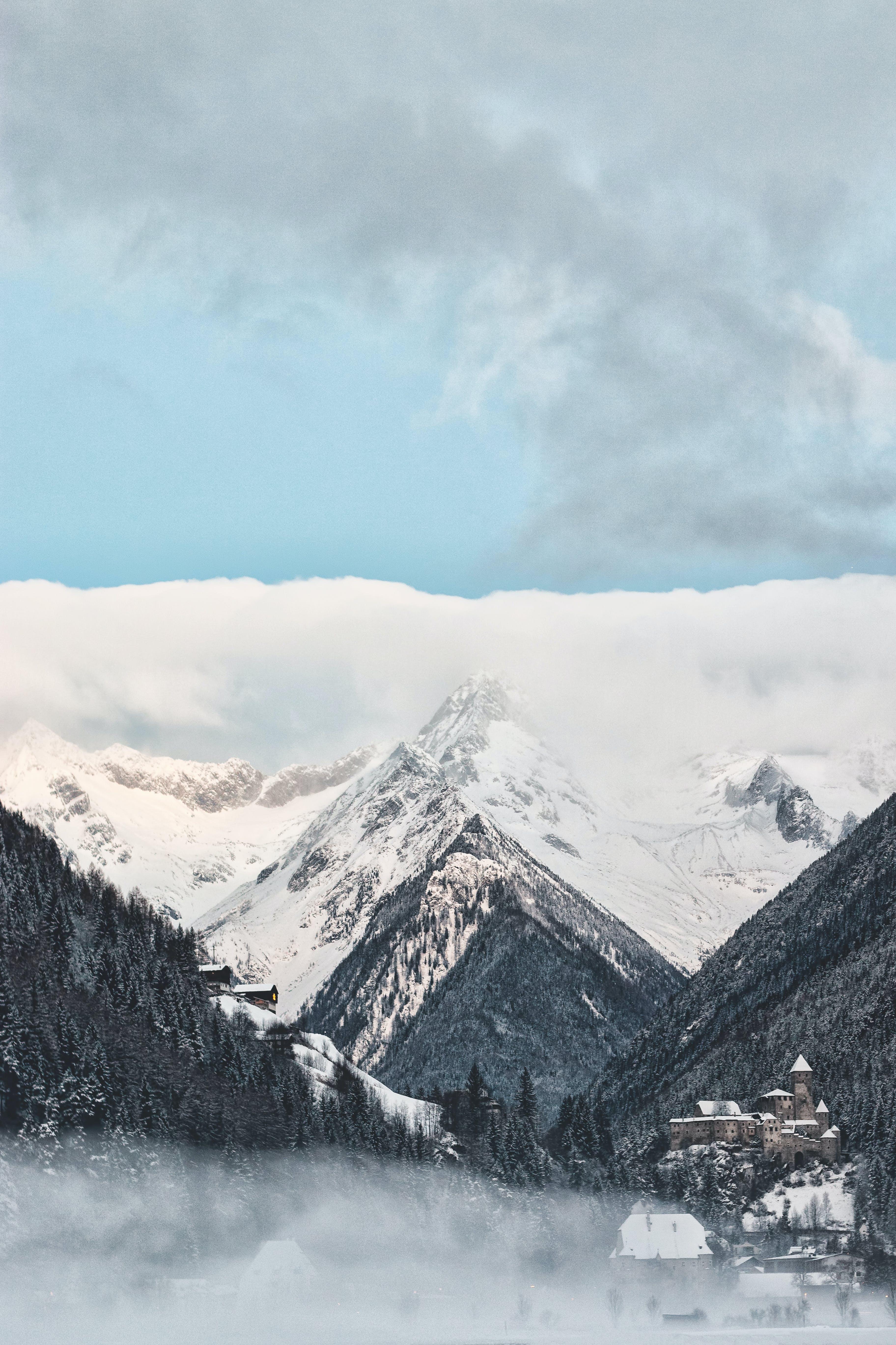 bjerge, bjergtinde, borg