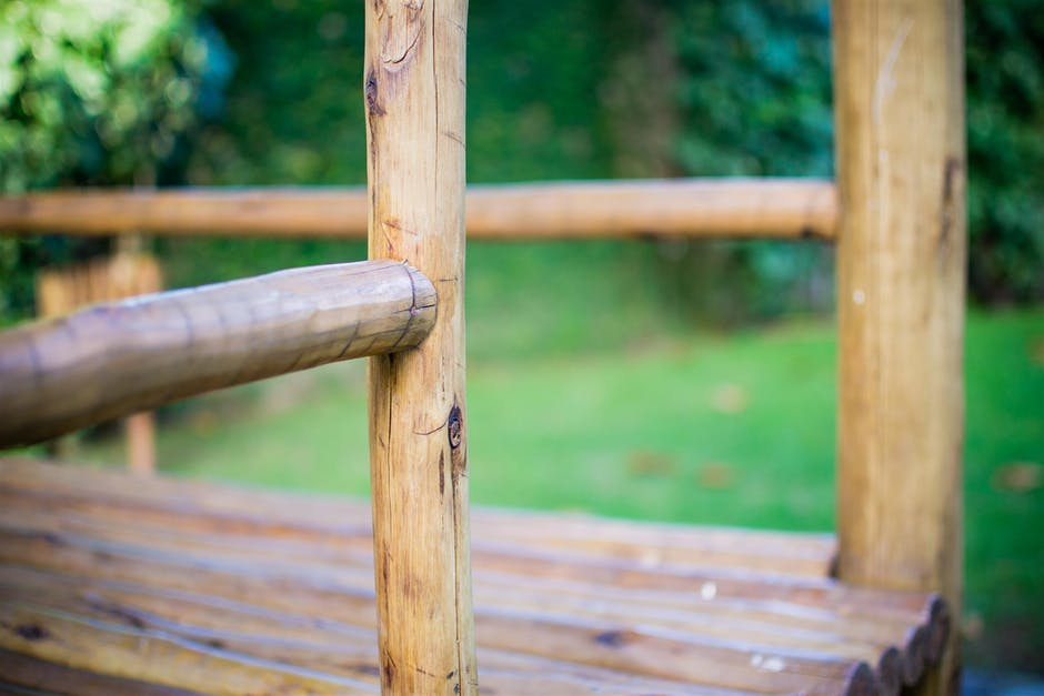 New free stock photo of wood, bench, garden