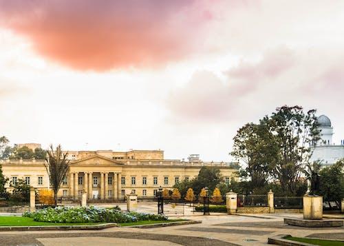 公園, 博物館, 噴泉 的 免费素材图片