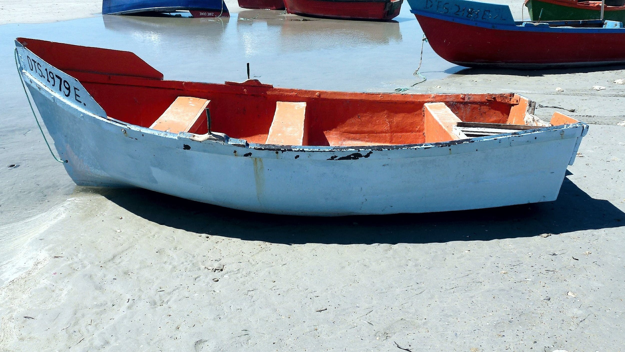 Free stock photo of beach, boat, sea