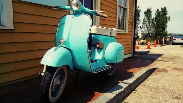 Free stock photo of vehicle, vintage, bike, old
