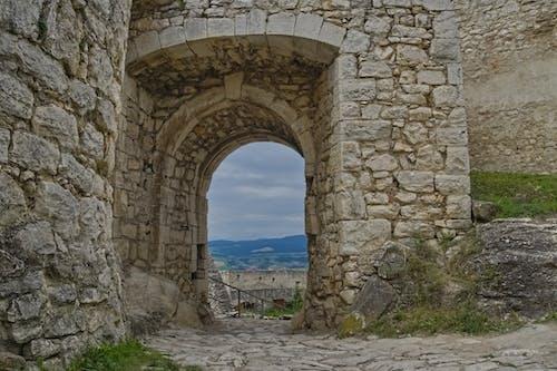 Free stock photo of castle, door, gate