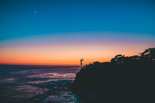 Ingyenes stockfotó hold, igazi, irreális, laguna strand témában