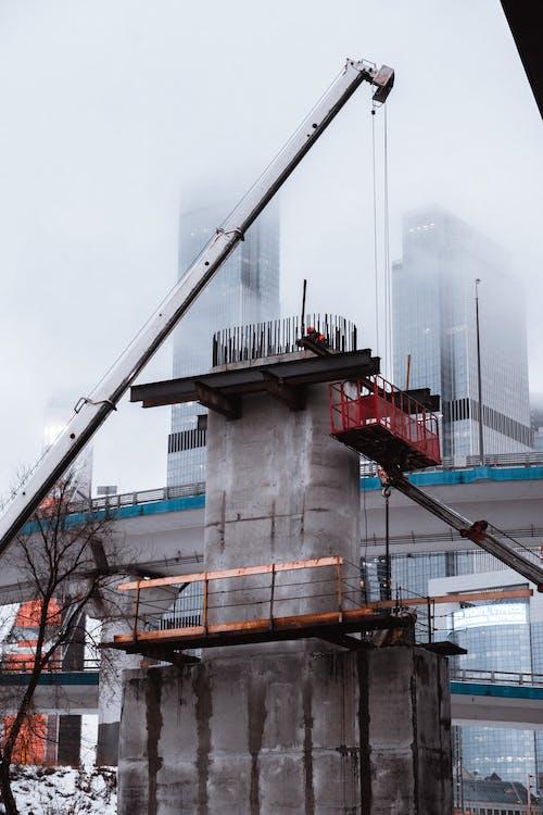Kostenloses Stock Foto zu bau, baustelle, betonstruktur