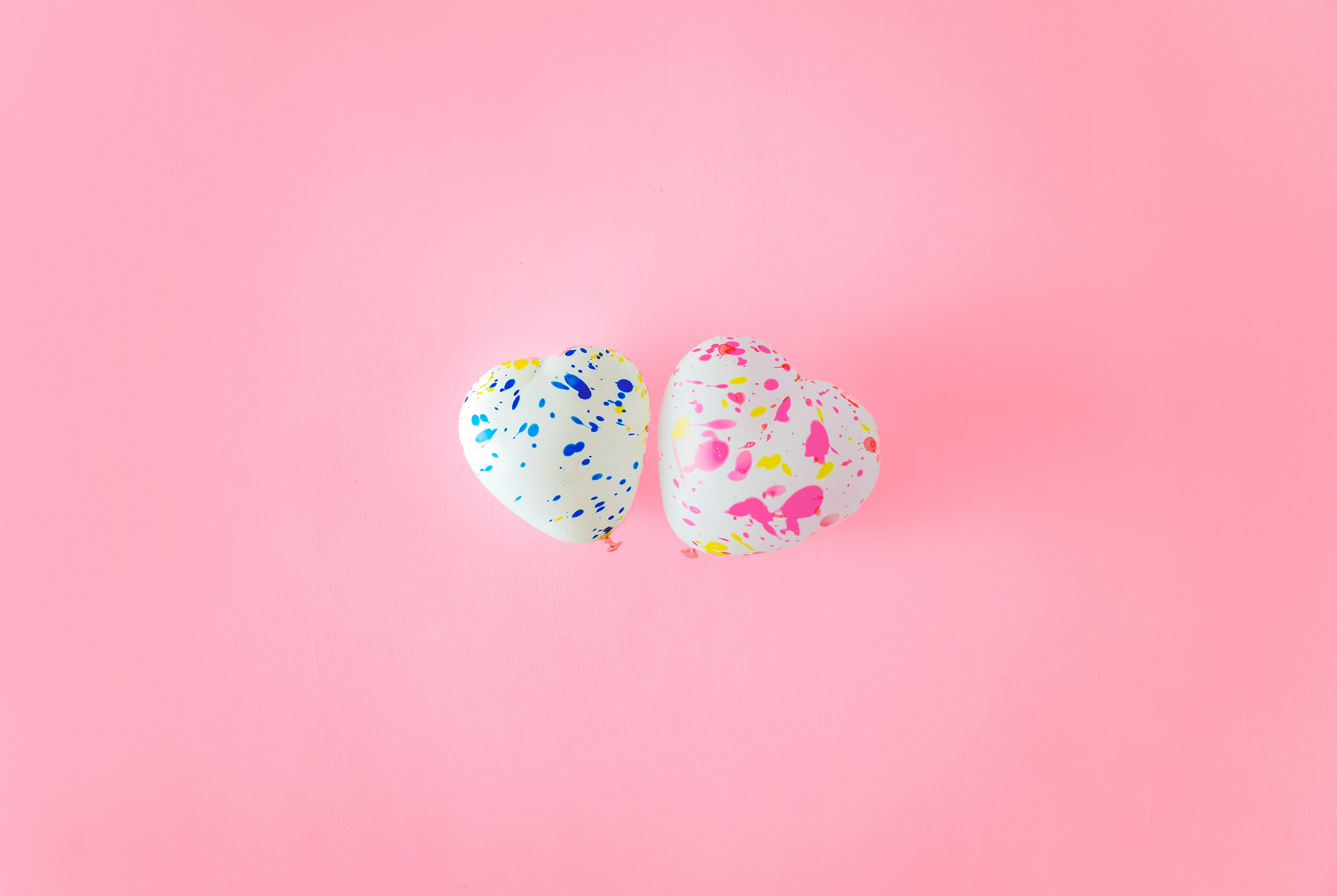Free stock photo of love, blue, cute, pink