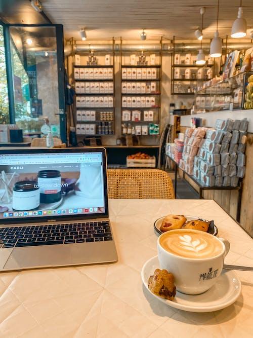 Ilmainen kuvapankkikuva tunnisteilla digitaalinen nomadi, herkullista, kahvi