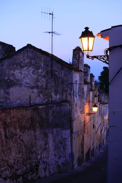 Immagine gratuita di crepuscolo, la strada, luci
