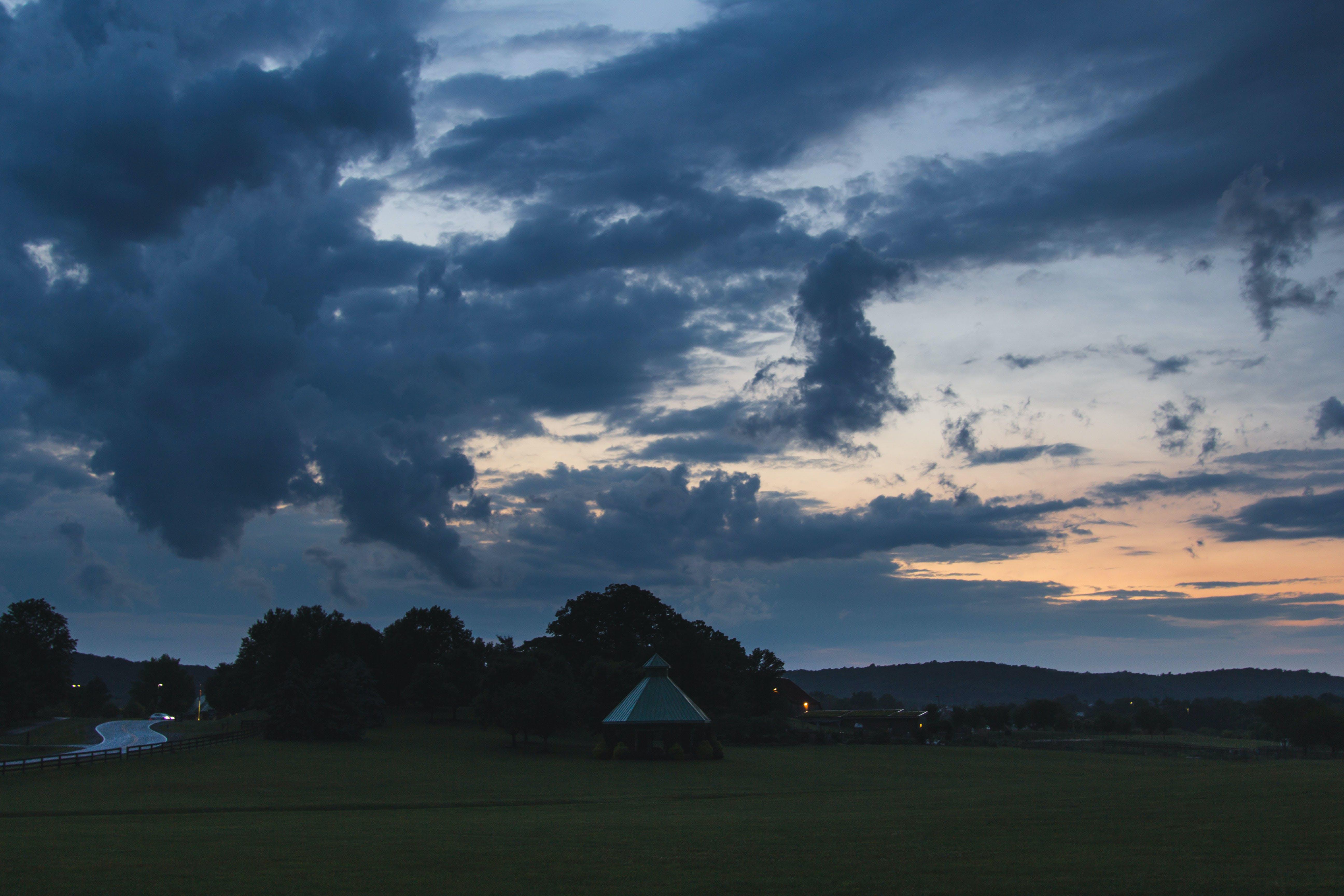 Free stock photo of landscape, sunset, clouds, dusk