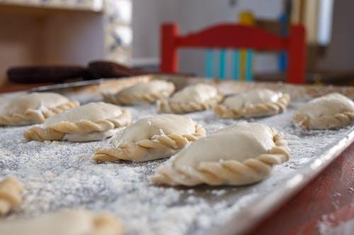 Empanadas on a Baking Tray