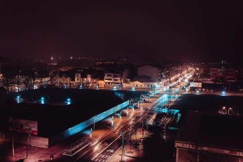 Free stock photo of city, city life, dark, lights