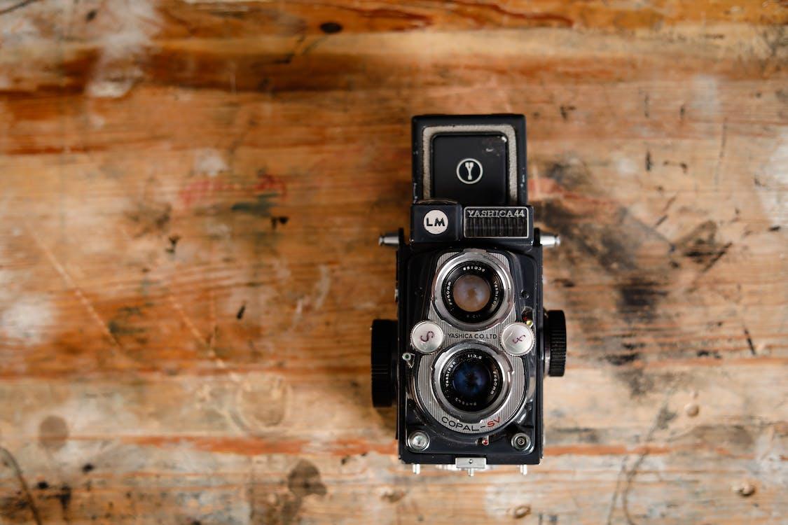 attrezzatura, classico, fotocamera