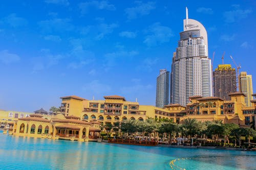 Free stock photo of addres hotel, countdown, dubai, hotel